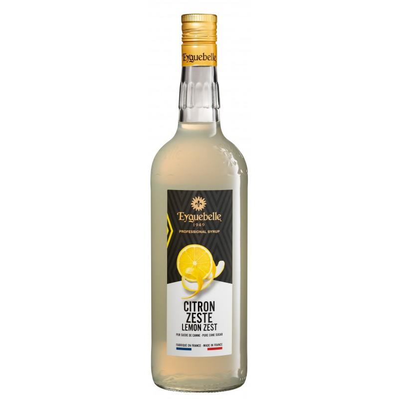 Sirop Eyguebelle zeste de citron