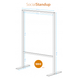 Social window standup