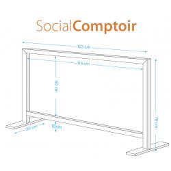 Social window comptoir